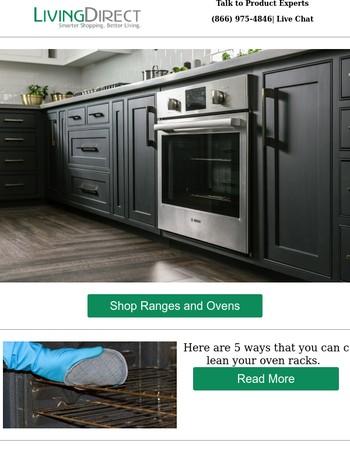 5 Ways to Clean Your Oven Racks