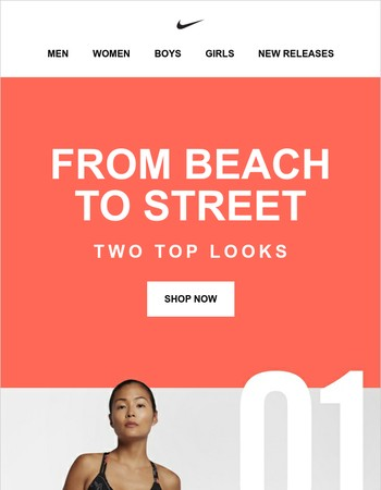 Beach to Street. Two Looks to Own.