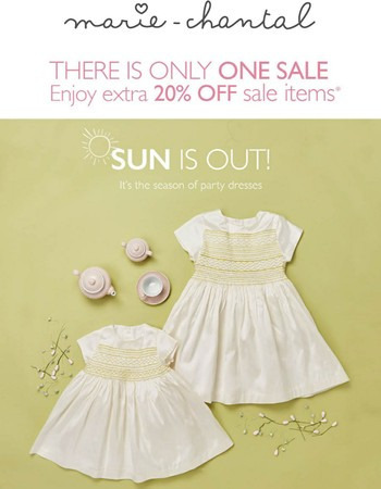 Sun is out! Summer Sale up to 70% OFF!