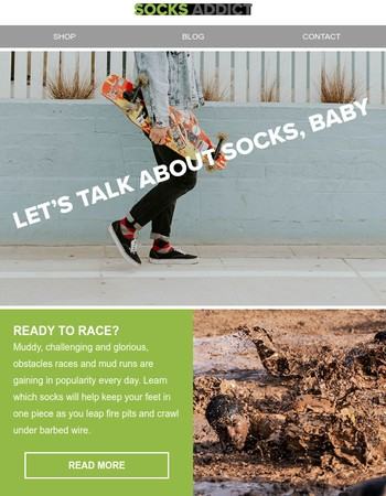 Let's Talk About Socks, Baby!
