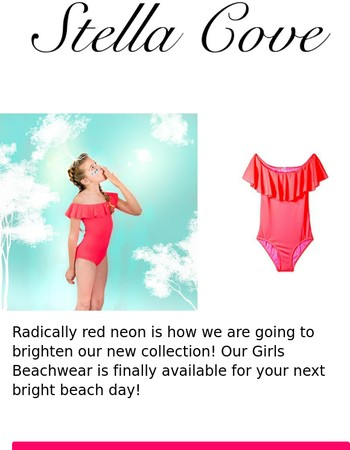Announcing Newest Neon Swimsuit at Stella Cove!!