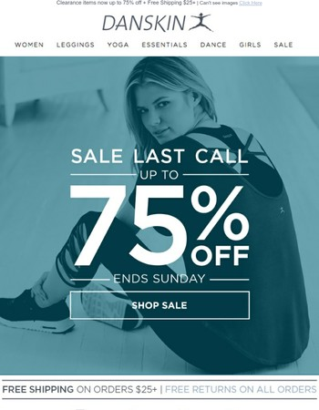 THIS IS IT - 75% OFF ENDS SUNDAY!