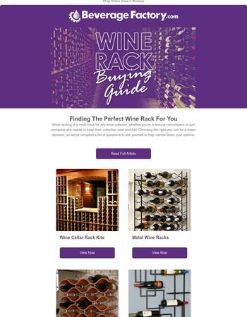 Wine Rack Buyer's Guide