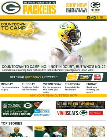 Countdown to Camp: No. 1 not in doubt, but who's No. 2?