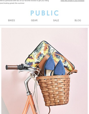 Summer Giveaway! Win gifts from PUBLIC, Sole Society, and Society6.