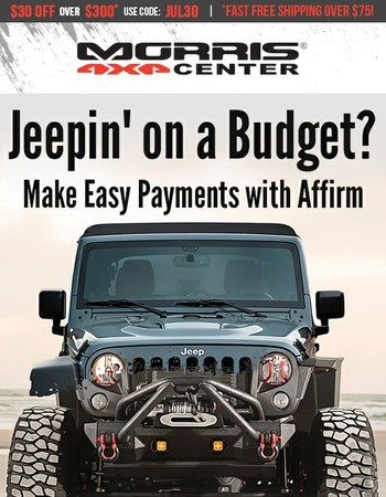 CJ - Get Low Monthly Payments for the Jeep Parts You Need