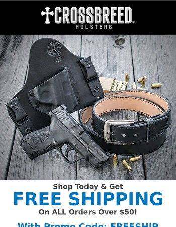 A Little Something Free This Week From CrossBreed® Holsters