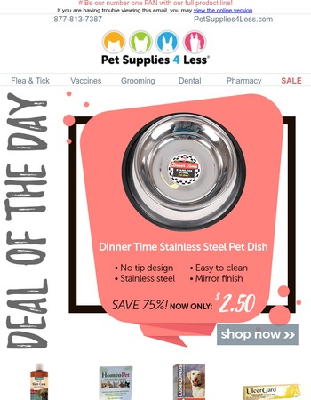 CHILL out your budget during the Dog (and Cat) Days of Summer with AMAZING DEALS!
