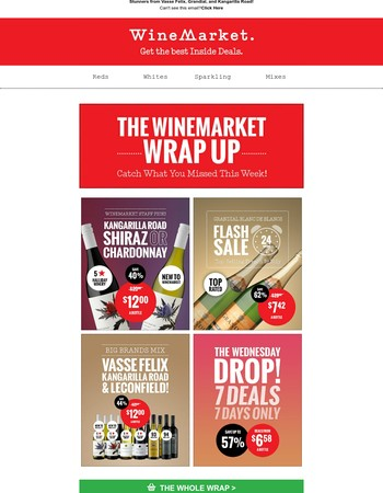 WineMarket Wrap - Catch the Deals You Missed This Week!