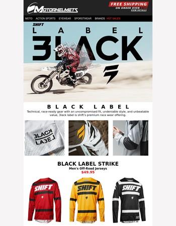 Introducing the Shift MX Black Label Racewear!