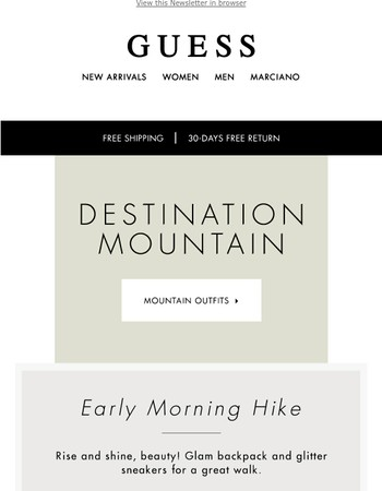 Discover Chic Mountain wear Ideas - Sale up to 50% off