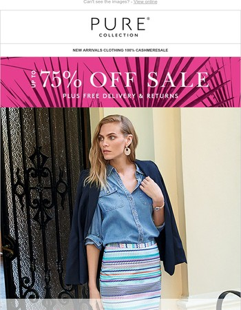 FINAL REDUCTIONS   Up To 75% Off Sale