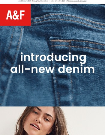 FYI: We completely redesigned our jeans