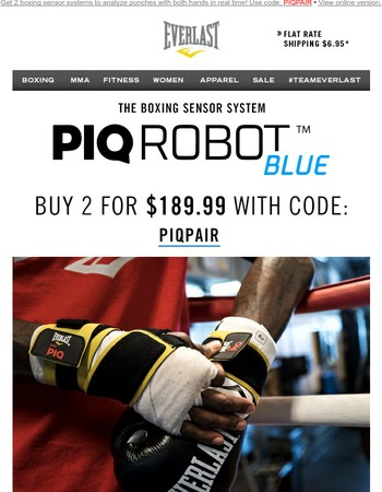 Now's Your Chance! PIQ ROBOT™ - 2 for $189.99