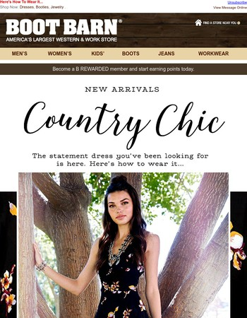New Arrivals - Comfy, Casual & Country Chic!