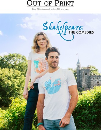 ICYMI: The Bard and new tees!➡