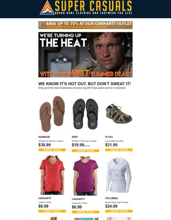 ✔Summer Deals So Hot They'll Make You Sweat!