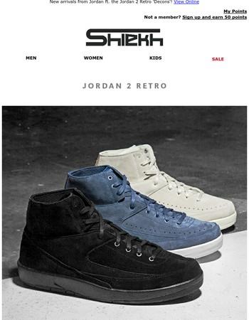 Fresh Drops | Jordan 2 Retro 'Decons' Out Now