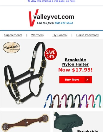Tack Sale - Save up to 26%
