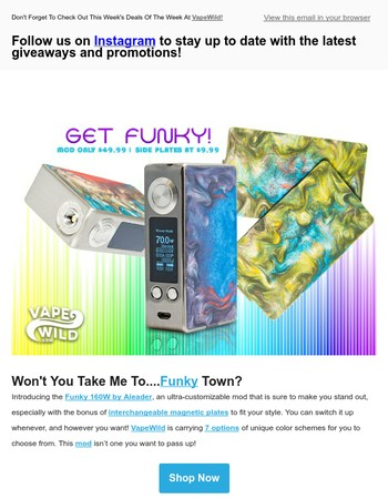 It's Time To Get Funky! This Is The Mod People Will Be Talking About!