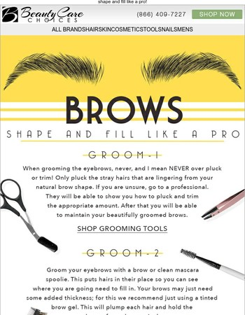 It's a Brow How-To!