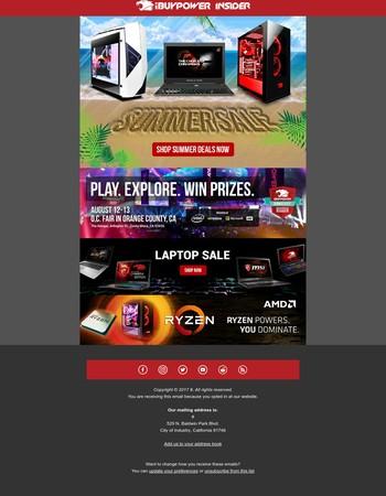 Summer Deals + GameFest @ OC Fair
