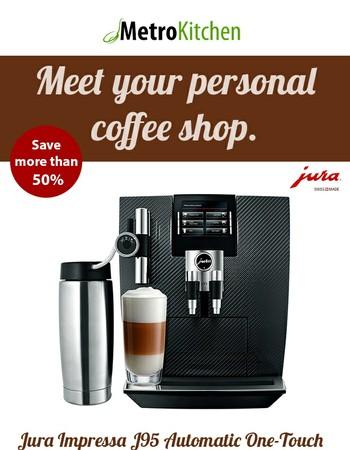BIG Savings on Jura Impressa J95 Coffee Machine - Carbon
