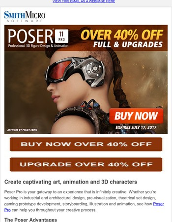 Final Weekend! Get Over 40% Off Now on Poser Pro 11 – Create Realistic 3D Characters
