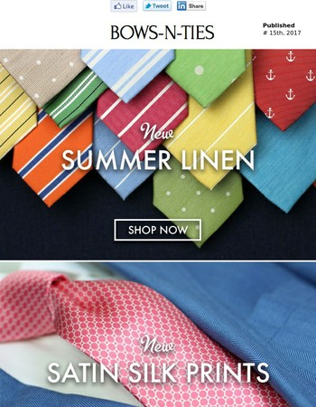 Get dibs on 3 NEW Summer Collections