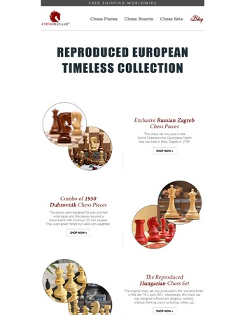 Introducing European Timeless Collection.