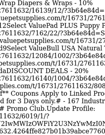 Coupon Deals - Bullies, Pads, Diapers & More