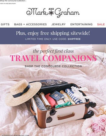 Beautiful lightweight luggage for every traveler and destination!