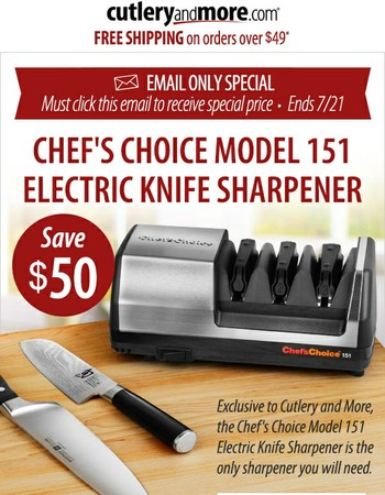 Are your kitchen knives dull?