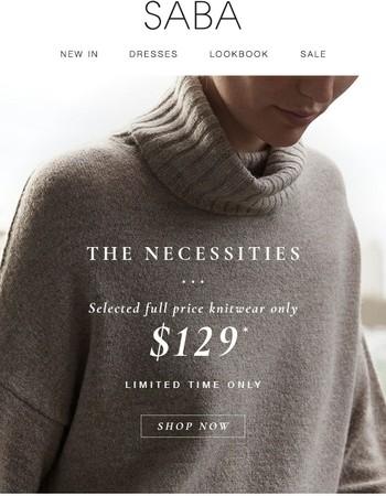 Knitwear Necessities