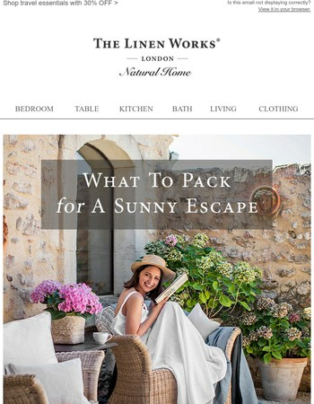 What to Pack For A Sunny Escape