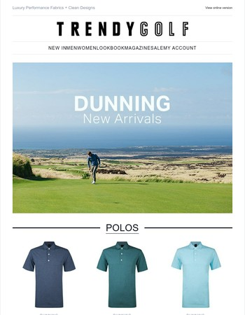 New Season Arrivals From Dunning