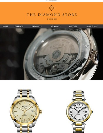 Luxury Swiss Watches from £107