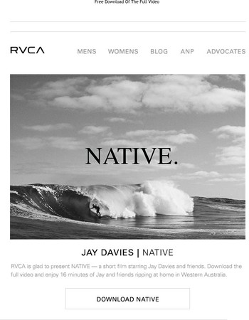 Presenting 'Native' - a short film feat. Jay Davies