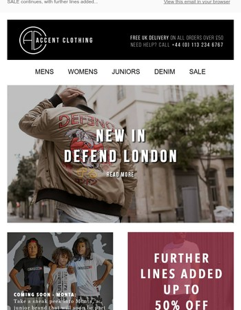 The Latest | Maison Scotch, Defend London and new brands...