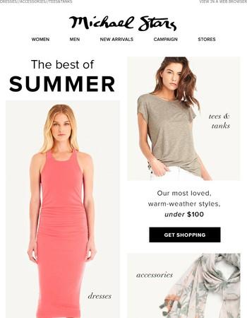 Summer under $100 ☀
