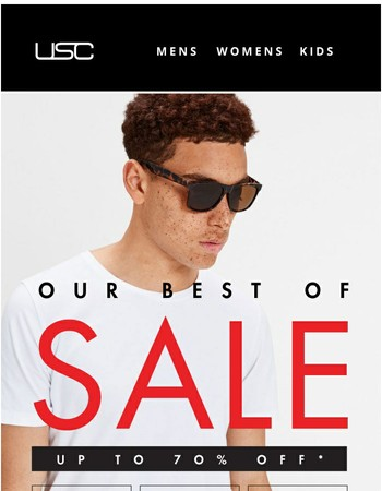 Sunday Savings - Best of the sale!