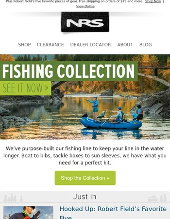 Shop Our Purpose-Built Fishing Collection »