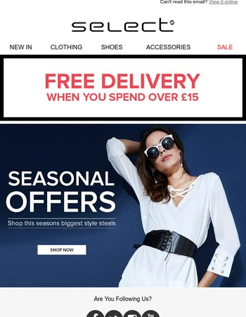 Oh hey Mary! Be quick to get Free Delivery before midnight!