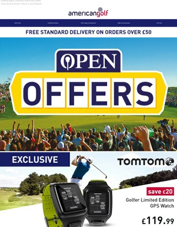 Unmissable Open Offers