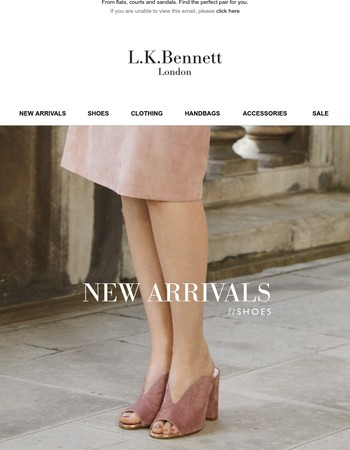 New Statement Shoes + Extra 10% Off Sale