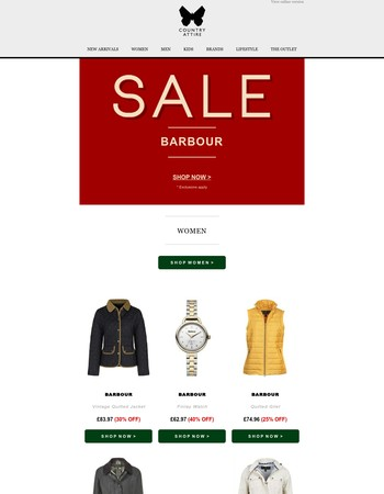 Barbour | Sale