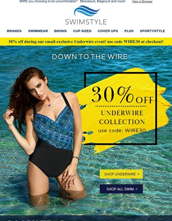 30% OFF Underwire Swimwear ⭐ plus TOP 5 Myths Revealed!