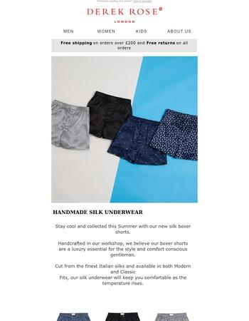 Handmade Silk Underwear