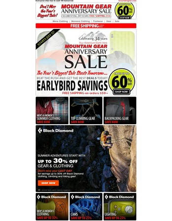 Mary ,Save now on our biggest Sale of the Year