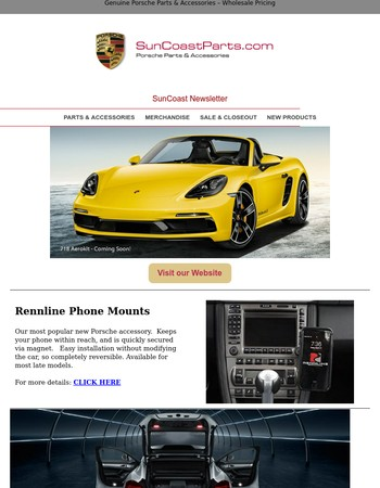 Check out our most popular new Porsche accessory.